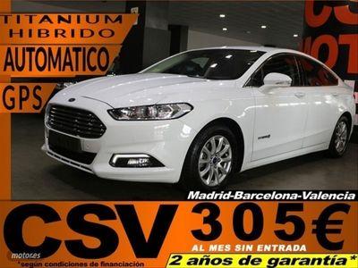 usado Ford Mondeo 2.0 Hibrido 187cv Titanium Hev