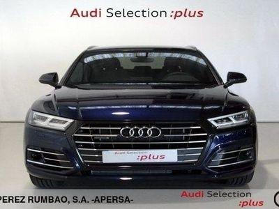 usado Audi Q5 Competition 55 TFSI E quattro 270 kW (367 CV) S tronic Híbrido Electro/Gasolina Azul matriculado el 09/2020