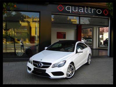 usado Mercedes E350 CDI COUPE AMG TECHO LIBRO MERCEDES GARANTÍA