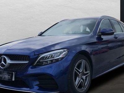usado Mercedes 220 Clase C FamiliarEstate d Estate AMG Line (EURO 6d-TEMP)