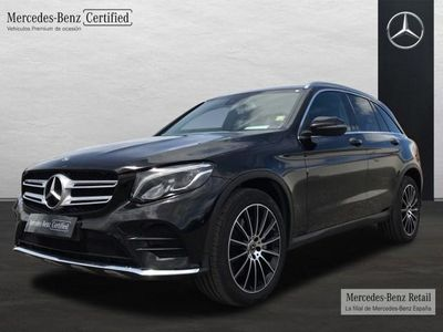 usado Mercedes GLC250 Clase4MATIC AMG LINE (EURO 6D-TEMP)