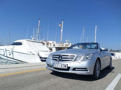 used Mercedes E350 CDI Avantgarde Cabrio Blue Efficiency