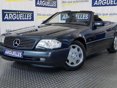 usado Mercedes SL320 4plzs NACIONAL con libro