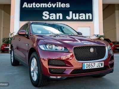 usado Jaguar F-Pace 2.0L i4D AWD Automatico Prestige