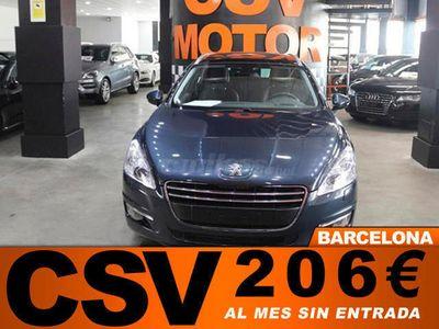 usado Peugeot 508 HDI SW **CUERO, T. PANORAMICO, 237€/MES**