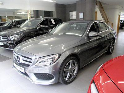 usado Mercedes C220 d 9G-Tronic, AMG Line, Faros LED