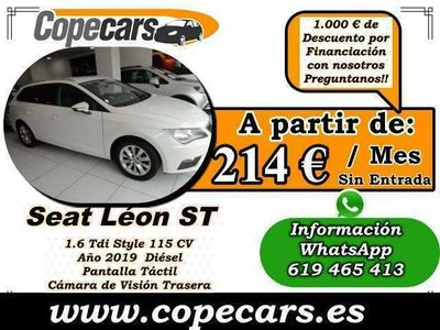 usado Seat Leon ST 1.6TDI CR S&S Style 115