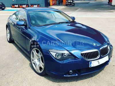 usado BMW 645 Serie 6 E63 Coupé Aut. 2p