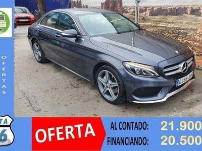 usado Mercedes C220 Clase Cd AMG Line
