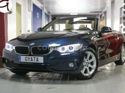 usado BMW 420 Serie 4 da Cabrio 190 cv en Madrid