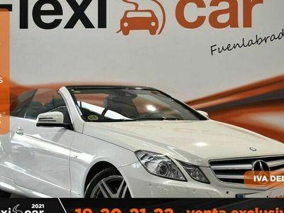 usado Mercedes 220 Clase E CabrioCDI BE Avantgarde