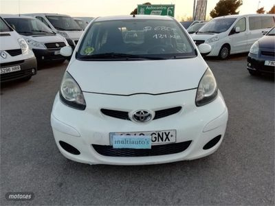 brugt Toyota Aygo 1.4D Blue