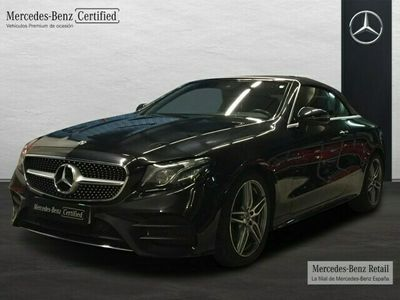 usado Mercedes E220 Cabrio AMG Line (EURO 6d-TEMP)