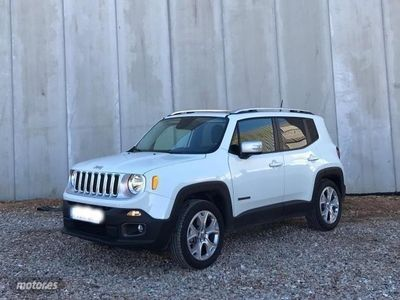 gebraucht Jeep Renegade 2.0 Mjt 140CV 4WD Active Drive Limited