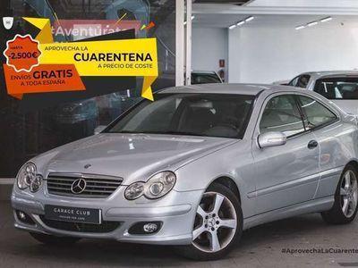 usado Mercedes C220 Clase CCDI Sportcoupe