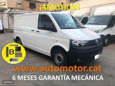 usado VW Transporter 2.0TDIBMT 4M Corto 140cv - GARANTIA MECANICA