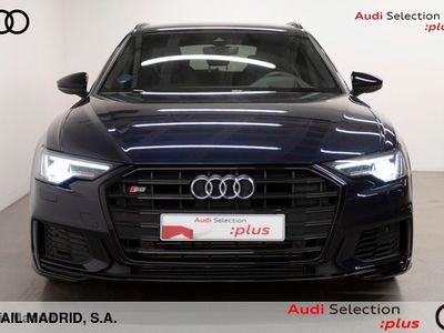 usado Audi S6 Avant 3.0 TDI quattro tiptronic 257 kW (350 CV) Híbrido Electro/Diesel Azul matriculado el 09/2019