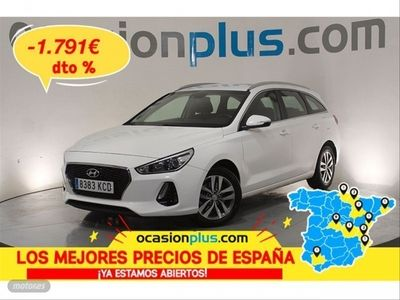 usado Hyundai i30 CW 1.6 CRDi 81kW 110CV Tecno