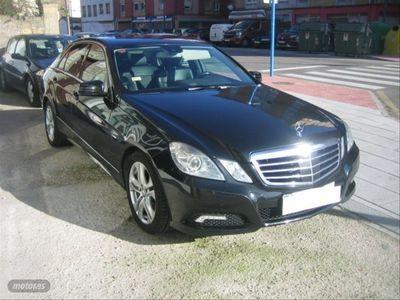 usado Mercedes E350 Clase EBlueTec Avantgarde
