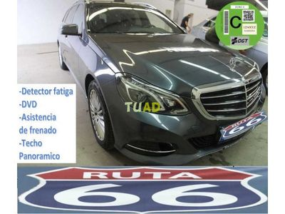 usado Mercedes 220 Clase E Estatecdi Elegance Aut. 9 veloc.
