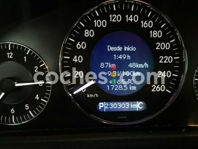 usado Mercedes CLK200 Clase ClkK 163 cv en Madrid