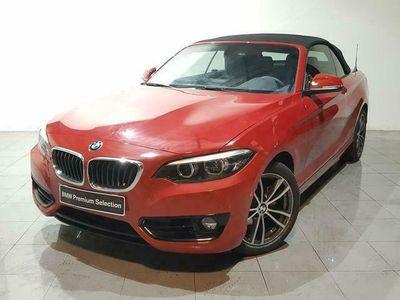 usado BMW 218 i Cabrio 100 kW (136 CV)