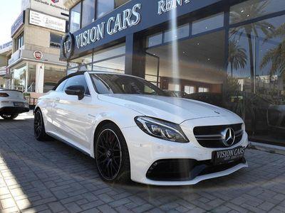usado Mercedes C63 AMG AMG S Cabrio 510 CV EDITION 1
