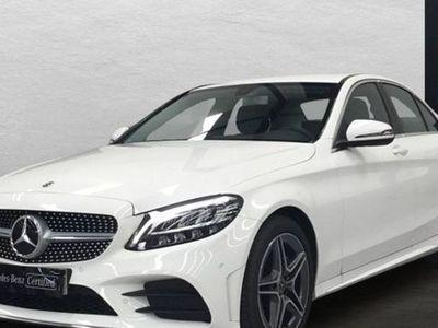 usado Mercedes C200 Clased AMG Line (EURO 6d-TEMP)