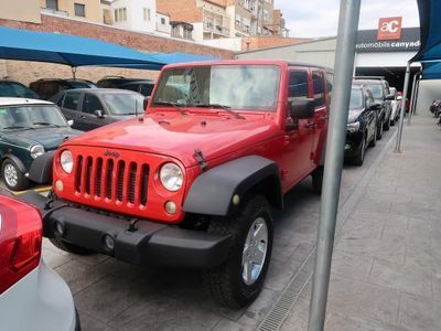 usado Jeep Wrangler Unlimited 2.8CRD Sport