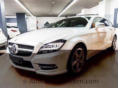 usado Mercedes CLS350 CDI Shooting Brake*AMG*Techo*GPS*LED*HiFi*490€/m