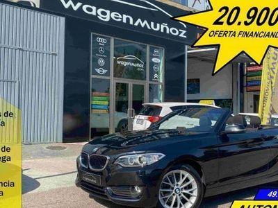 usado BMW 218 Serie 2 d Cabrio