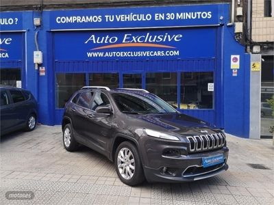 used Jeep Cherokee 2.2 CRD 200 CV Limited Auto 4x4 Ac. D.II
