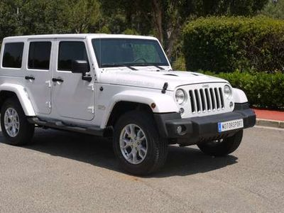 usado Jeep Wrangler Unlimited 2.8CRD JK Edition Limited Aut. piel