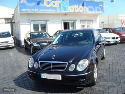 gebraucht Mercedes E320 CDI AVANTGARDE -- AUTOMATICO -- TECHO --
