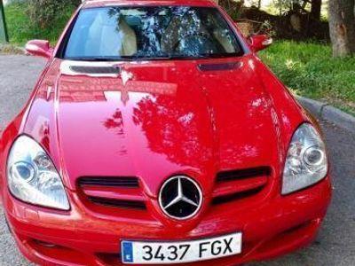 usado Mercedes SLK200 Clase SLKK -07