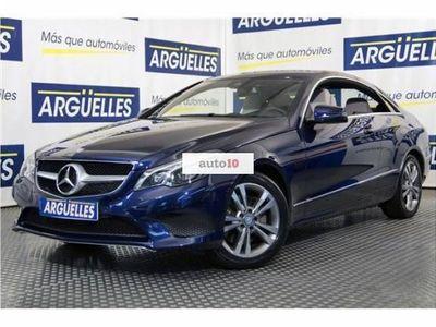 usado Mercedes E350 Clase ECoupe Bluetec
