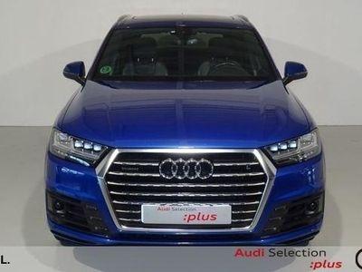 usado Audi Q7 3.0 TDI quattro 200 kW (272 CV) tiptronic Diésel Azul matriculado el 01/2017