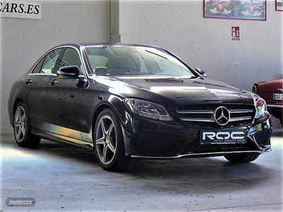 usado Mercedes C200 Clase Cd AMG Line
