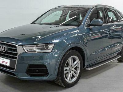 usado Audi Q3 sport edition 2.0 TDI quattro 110 kW (150 CV) S tronic Diésel Azul matriculado el 01/2017