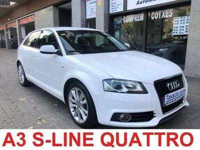 usado Audi A3 2.0TDI S Line Edition quattro
