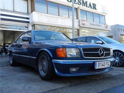 usado Mercedes 380 SEC Muy buen estado. Libro.