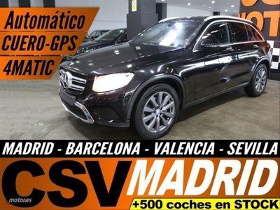 usado Mercedes GLC250 Clase GLCd 4MATIC Exclusive