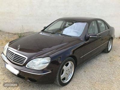 usado Mercedes S500 Clasecat