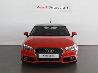 usado Audi A1 Sportback Attraction 1.2 TFSI 63 kW (86 CV) Gasolina Rojo matriculado el 09/2014