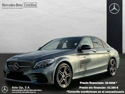 usado Mercedes C200 d AMG Line (EURO 6d-TEMP)