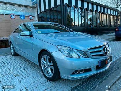 usado Mercedes E220 Clase E CoupeCDI Blue Efficiency Avantg.