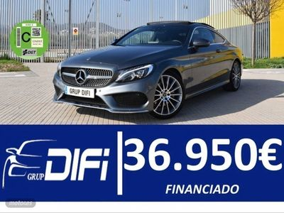 usado Mercedes 170 Clase C C220d COUPEAUTO 9G PACK AMG