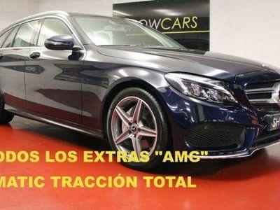usado Mercedes C220 Estate d 4Matic 9G-Tronic