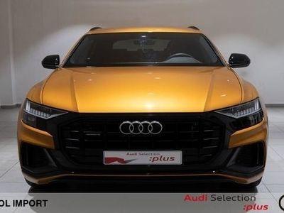 usado Audi Q8 50 TDI quattro 210 kW (286 CV) tiptronic Diésel Naranja matriculado el 09/2018