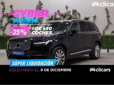 usado Volvo XC90 D5 Inscription AWD 225 Aut.
